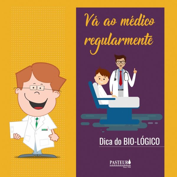 bae3fbd86 ... fazer exames de rotina como uma forma de prevenção, quanto mais cedo a  patologia for detectada, mais rápida será a cura. Visite seu médico  regularmente.